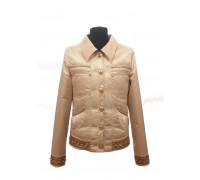 Ветровка-пиджак ANGELO подростковая бежевый р.140-158