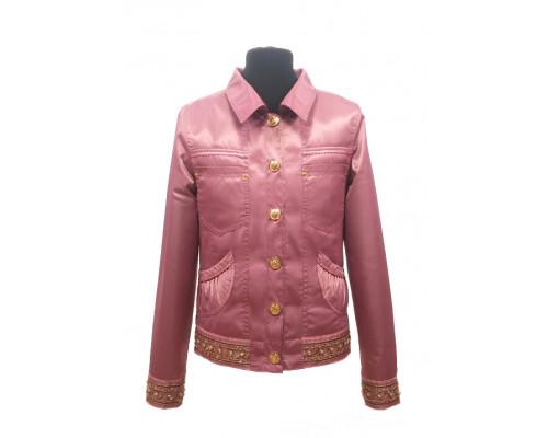 Ветровка-пиджак ANGELO подростковая брусника р.140-158