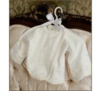 Распашонка с окантовкой, гипюром BabyPollo 2-042