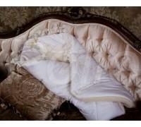 Конверт-одеяло зимний на меху с отделкой гипюр BabyPollo 2-071