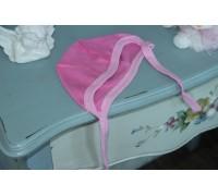 Чепчик рибана, цвет розовый 2-158