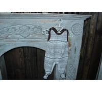 Высокие ползунки на лямках BabyPollo Норд Вест 5-614