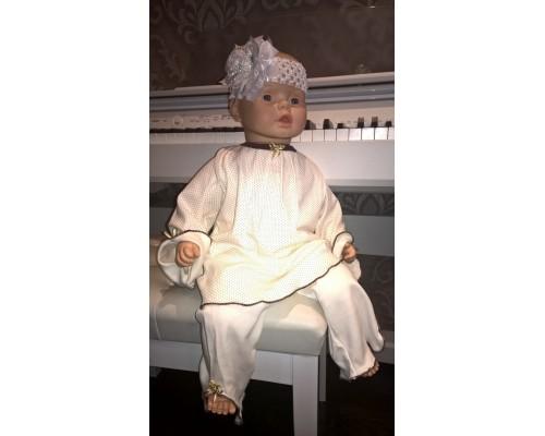 Пижама BabyPollo Мальвина для девочки 2-253