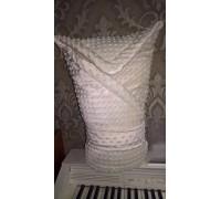 Конверт-одеяло на выписку с поясом для фиксации BabyPollo
