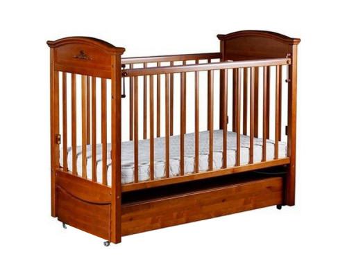 Детская кроватка Birichino Napoleon VIP (маятник продольный) 120х60см