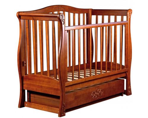 Детская кроватка Birichino Viva Luxury (маятник поперечный) 120х60см