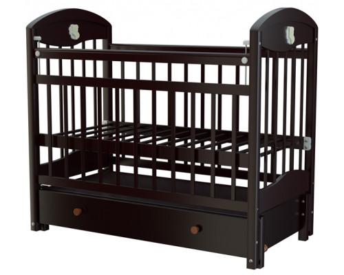 Детская кроватка Briciola-3 (маятник продольный) 120x60 см