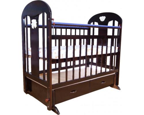 Детская кроватка Briciola-5 (маятник поперечный) 120x60 см