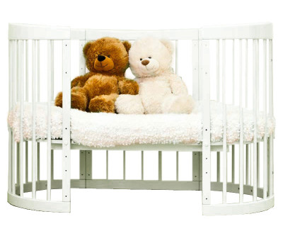 Детская кроватка трансформер Красная Звезда Паулина 8 в 1