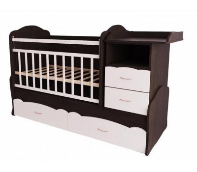 Детская кроватка трансформер Valle Alisa