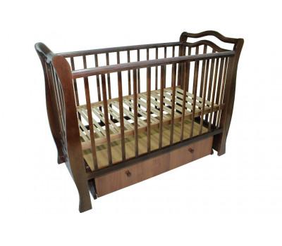 Детская кроватка Valle Toscana маятник поперечный с ящиком