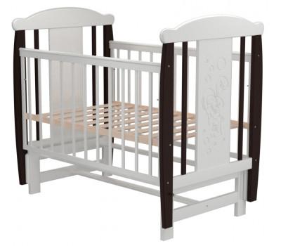 Детская кроватка Valle Bunny 04 маятник поперечный б/ящ.