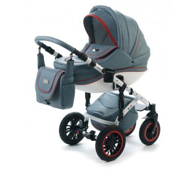 Детская коляска Vikalex Ferrone 3 в 1 Leather