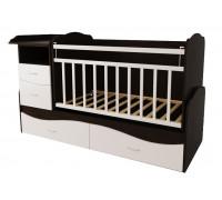 Детская кроватка трансформер Valle Allegra Comfort