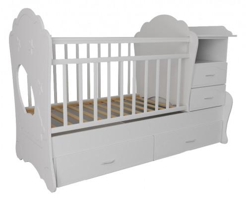 Детская кроватка трансформер Valle Kapris