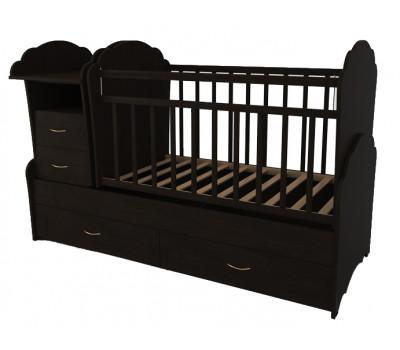 Детская кроватка трансформер Valle Kristina