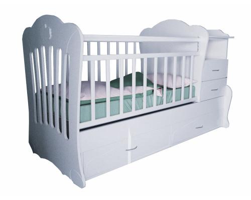 Детская кроватка трансформер Valle Seleste