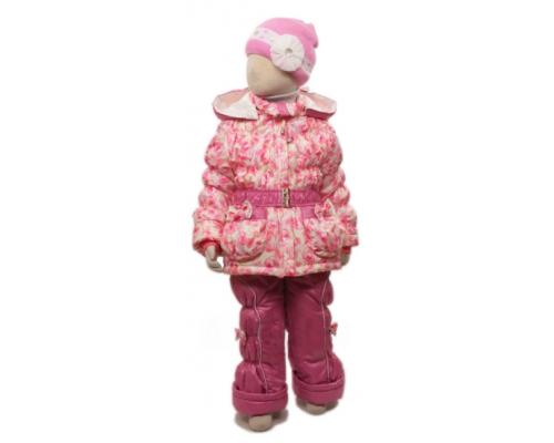 Комплект Егорка Яблочки весна-осень, розовый