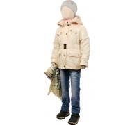 Куртка весна-осень Егорка Леди, кремовый