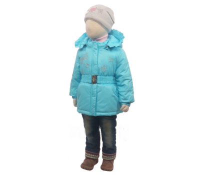 Куртка весна-осень Егорка Эвелина, голубой