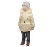 Куртка весна-осень Егорка Эвелина, кремовый