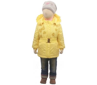 Куртка весна-осень Егорка Эвелина, лимон