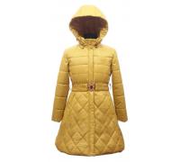 Пальто весна-осень Егорка Красотка, горчица
