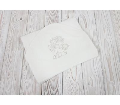 """Крестильное полотенце с уголком JollyBaby """"Ангелочек"""""""