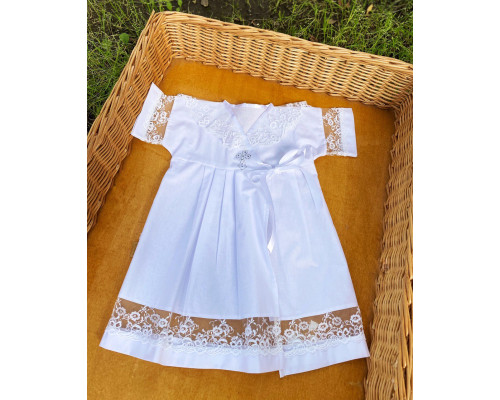"Крестильное платье JollyBaby ""Ева"" р.62-80"