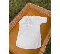"Крестильная рубашка JollyBaby ""Вышивка"" р.62-86"