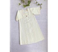 """Крестильная рубашка JollyBaby """"Шитьё"""" р.62"""