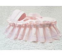 "Люлька-переноска Jolly Baby ""Принцесса"" розовая"