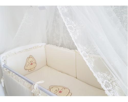 Комплект постельного белья JollyBaby (6 предметов) с вышивками