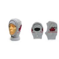 "Шапка-шлем GRUMAR ""Тачки"" серый, р.50-52"