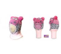 """Шапка-шлем KOLAD """"Лео"""" розовый, р.46-48"""