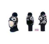 """Шапка-шлем KOLAD """"Мишки"""" коричневый р.46-48"""