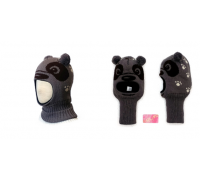 "Шапка-шлем KOLAD ""Панда"" коричневый р.46-48"
