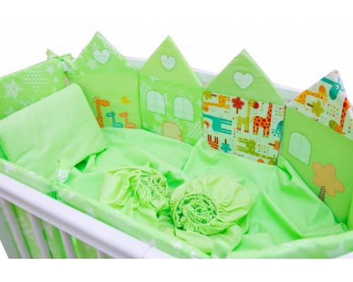 Комплект для овальной кроватки Valle Grace, 8 предметов