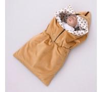 """Одеяло-конверт """"Конфетти"""" в коляску и автокресло, мод.Трансформер"""
