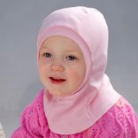 Шлем под шапку КрошкинДом розовый