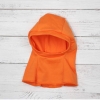 Шлем под шапку КрошкинДом оранжевый