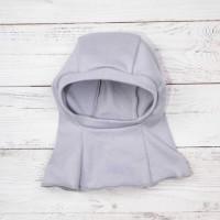 Шлем под шапку КрошкинДом серый