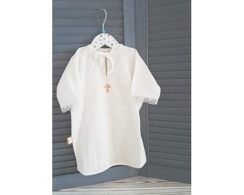 "Крестильная рубашка JollyBaby ""Кружево"""