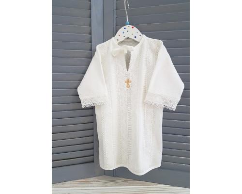 """Крестильная рубашка """"Ажур"""""""