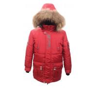 """Зимняя PIKOLINO куртка """"Аляска"""" красный р.134-158"""