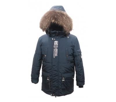 """Зимняя PIKOLINO куртка """"Аляска"""" синий р.134-158"""