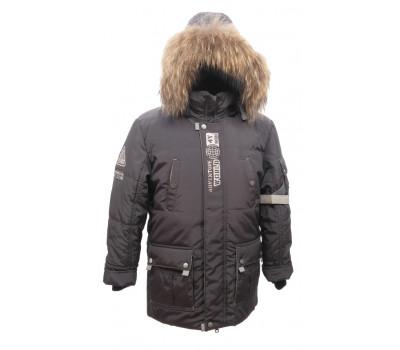 "Зимняя PIKOLINO куртка ""Аляска"" серый р.134-158"