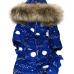 Комбинезон зимний Picolino Космос светящийся василек р.86-128