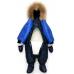 Комбинезон-трансформер PICOLINO, модель Принц, синий