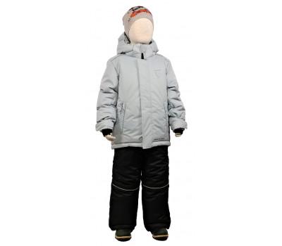 Зимний комплект PIKOLINO Спорт серый р.98-122